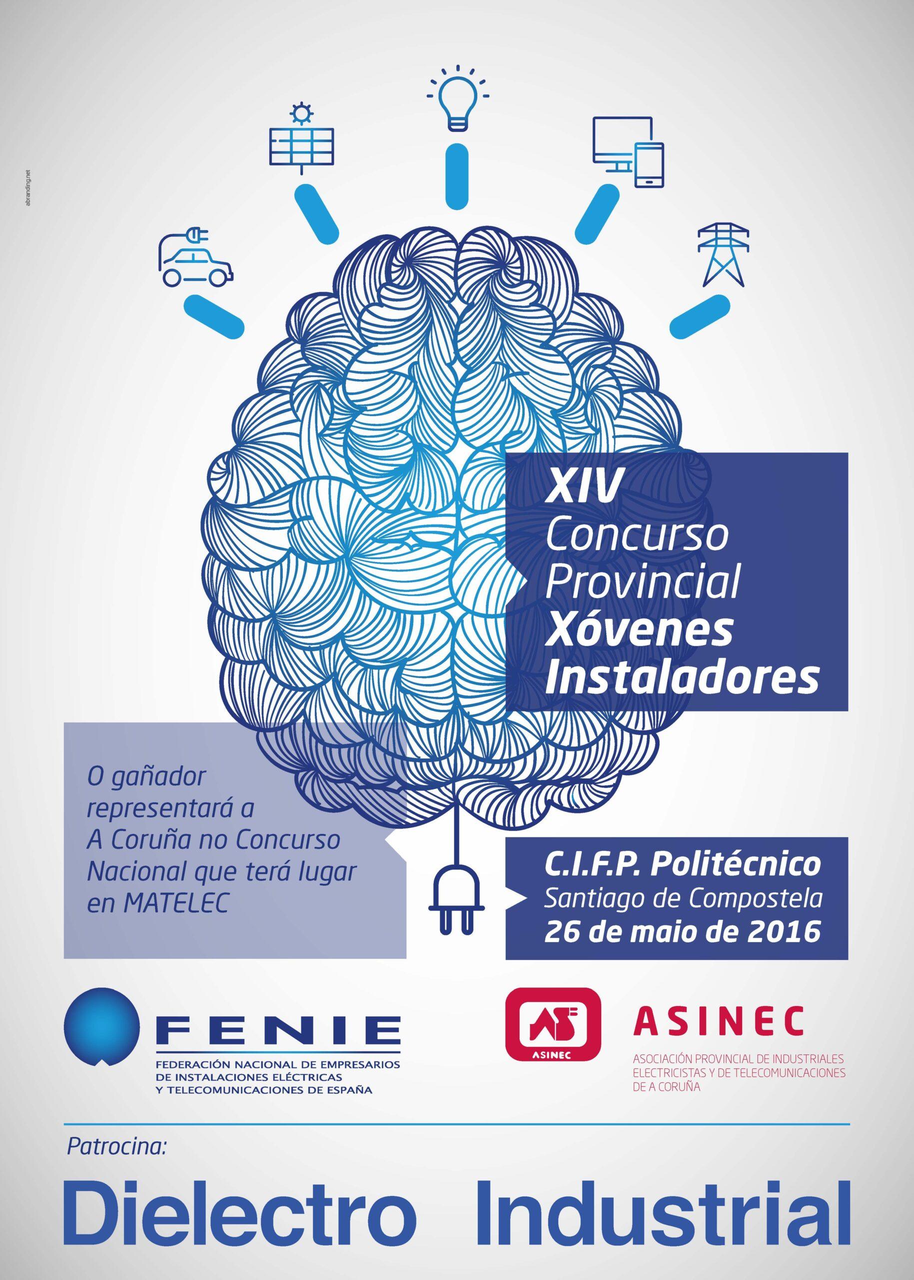 La fase provincial del xiv concurso de j venes instaladores se celebrar el 26 de mayo en el c i Electricistas santiago de compostela